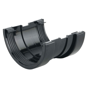 Osma SuperLine 5T509 Gutter Union 125mm Black