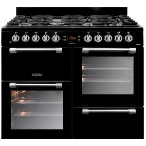 Leisure CK100F232K Cookmaster Dual Fuel Range Cooker Black 100cm