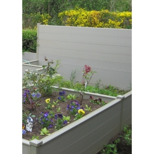 Durapost Composite Fencing Board Olive Grey 150mm 1830mm
