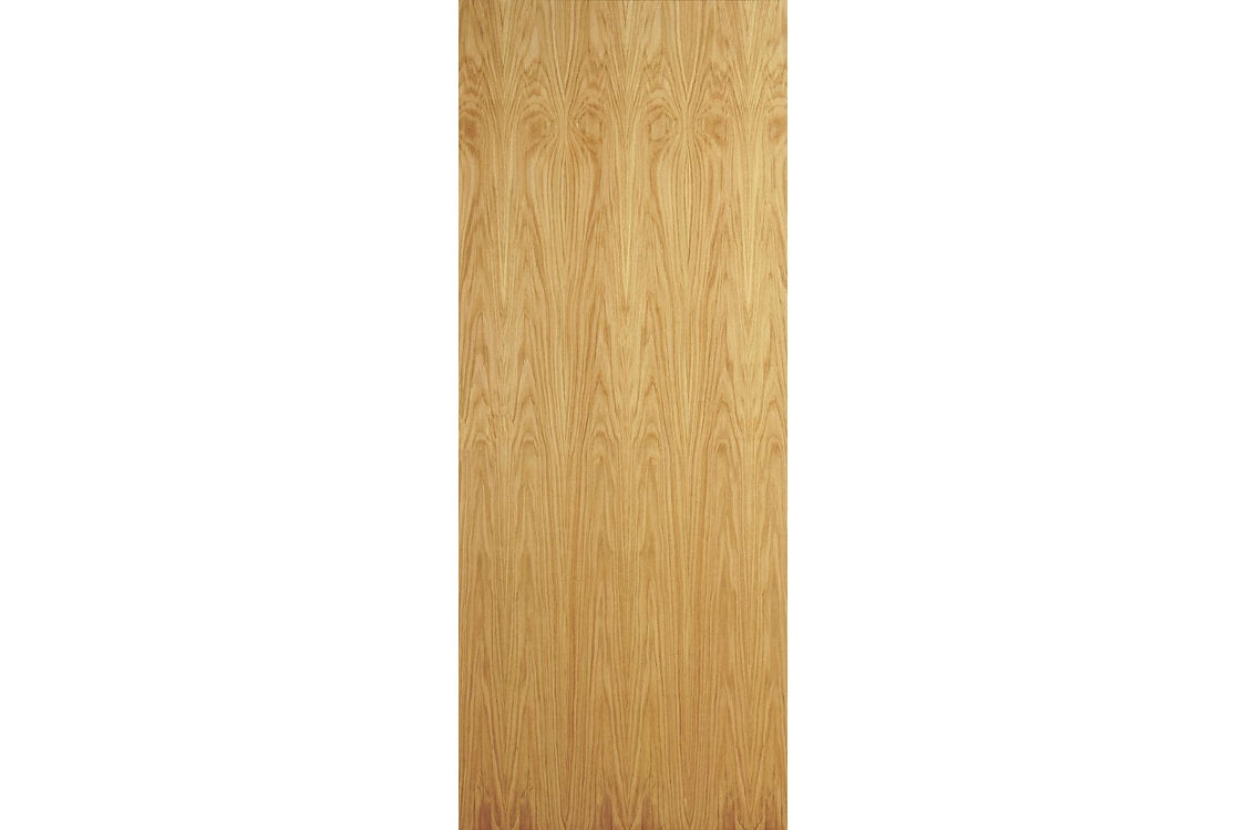 Internal Oak Flush Veneer 30 Min Fire Door 2040 mm x 826 mm x 44 mm