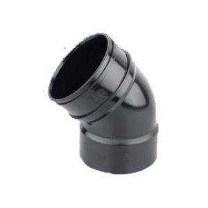 Osmasoil 4S463 45 Degree Solvent Weld System Bend Black 110mm