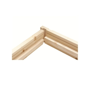 Redwood Fire Door Casing BWF Heads Untrenched 63 x 138mm Finished Size 131mm
