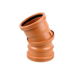 OsmaDrain Double Socket adjustable bend 0-30° 110mm 4D573