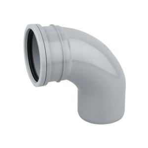 OsmaSoil 4S161G 110mm Ring-Seal Bend 87.5ø Grey