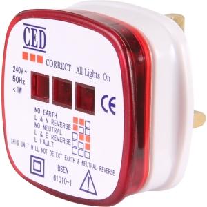 Ced RMT Socket Tester 13A