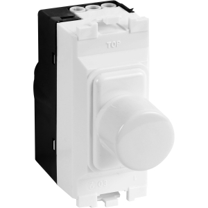 MK Grid Plus Dimmer Switch Modules 1 Module 40-220W 180VA / 4-70W LED