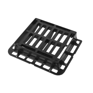 Clark Drain Gully Grate and Frame Ductile Hinged 370mm x 430mm