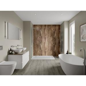 Multipanel Linda Barker Bathroom Wall Panel Unlipped Dolce Macchiato 3478