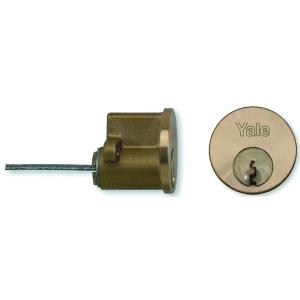 Yale 2KEYED Cylinder Brass P1109 Pb