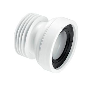 McAlpine WC-CON1 Straight Rigid WC Connector