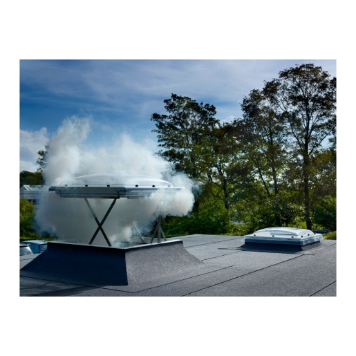 VELUX Flat Roof Smoke Vent Window 120mm x 120mm CSP120120 1073Q