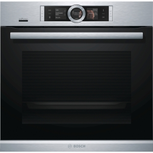 Bosch Serie 8 Integrated Single Pyrolytic Oven Stainless Steel with Home Connect - HBG6764S6B