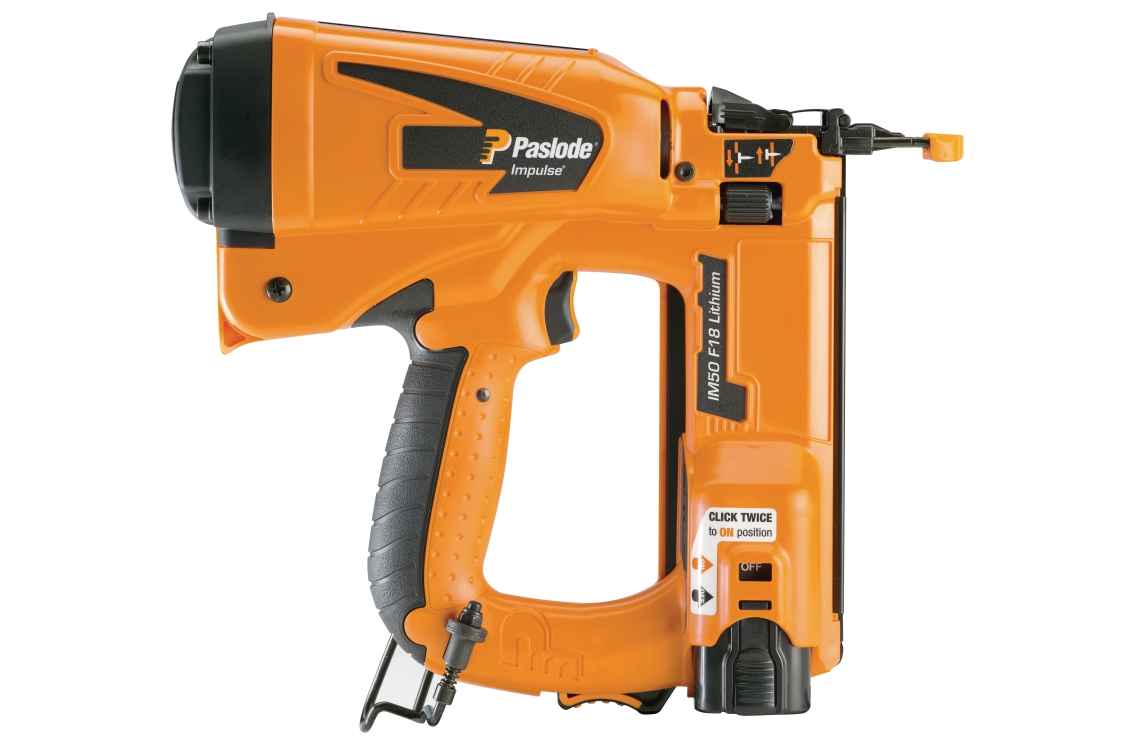 Paslode IM50 Cordless Gas Powered Finish Nailer F18FINE