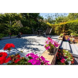 Alchemy HABITAT+ Wood Composite Decking 22mm x 135mm x 3600mm Rydal Grey