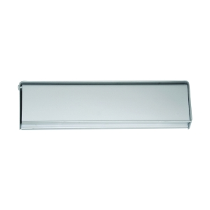 4Trade Letter Plate Face Fix 250 x 75mm Satin Anodised Aluminium