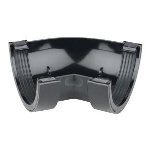 Osma RoundLine 0T004 Gutter Angle 45° 112mm Black