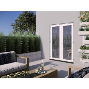 JELD-WEN Bedgebury Hardwood French Doors White Finish - 5ft