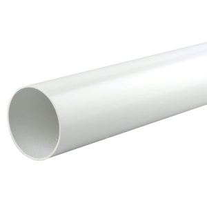 Osma RoundLine 0T086 Pipe 68mm White 2.75M