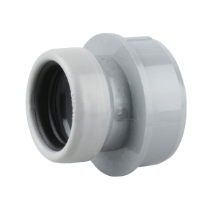 OsmaSoil 2S398G 32mm Ring-Seal Boss Adaptor Grey