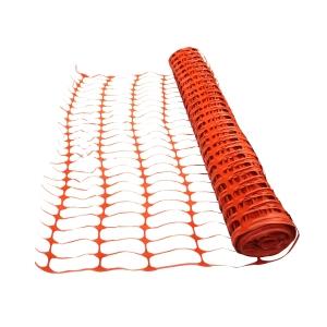 4Trade Orange Barrier Fencing 50m x 1m Roll
