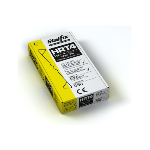Staifix HRT4 Type 4/TYPE A Housing Tie 225mm Box 250