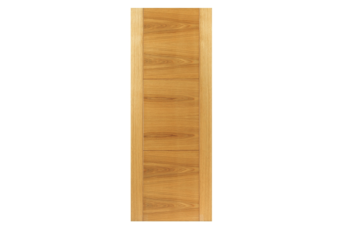 Internal Oak Mistral Internal Prefinished Door 35 x 1981 x 533mm