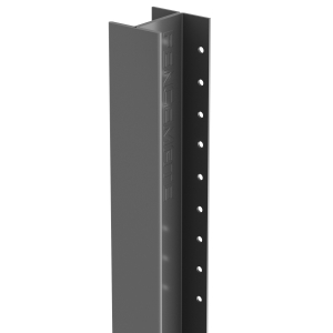 Durapost Classic Fence Post Anthracite Grey 48 x 2400mm Home Delivered