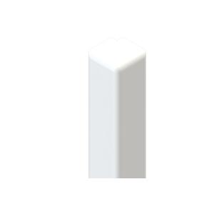 Liniar Fascia Corner White 454mm x 3000mm