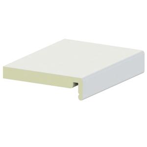 Liniar Box End White 454mm x 20mm
