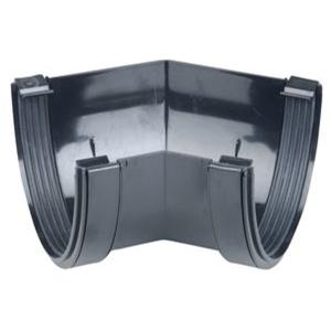 Osma DeepLine 9T904 Gutter Angle 45° 113mm Black