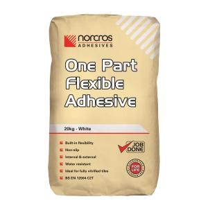 Norcros One Part Flexible Adhesive White