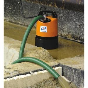 Tsurumi LSC1.4S 240V Puddle Residue Manual Pumpwith 10m 1in Layflat Hose