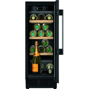 Neff N70 KU9202HF0g Built Under Wine Cabinet Black Glass 30cm
