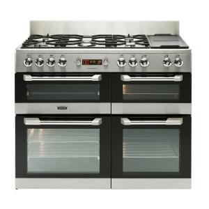 Leisure CS110F722X Cuisinemaster Dual Fuel Range Cooker Stainless Steel 110cm