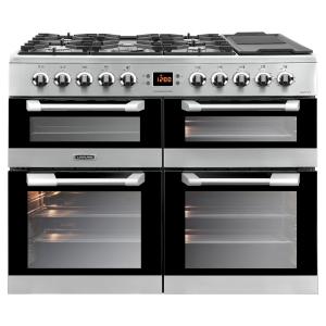 Leisure CS100F520X Cuisinemaster Dual Fuel Range Cooker Stainless Steel 100cm