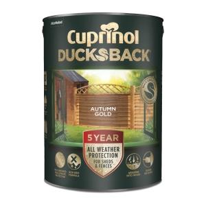 Cuprinol Ducksback Autumn Gold 5L