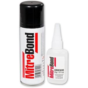 Unika Worktop Mitrebond 50g Adhesive + 200 Mil Aerosol