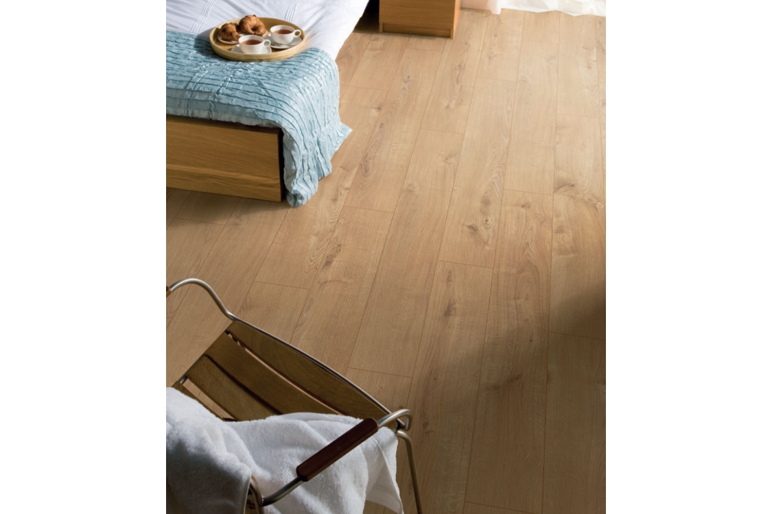 Kronospan Original Sherwood Oak Laminate Flooring 1285 x 192 x 12mm Pack Size 1.48m2