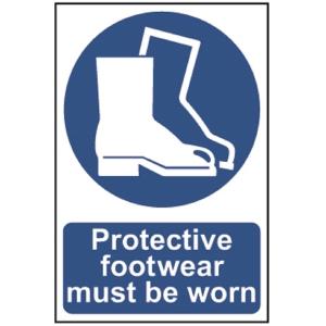 Spectrum Protective Footwear Must Be Worn (Regular)