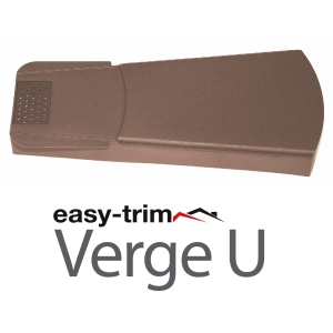 Easy Trim Easyverge U Universal Verge System Brown