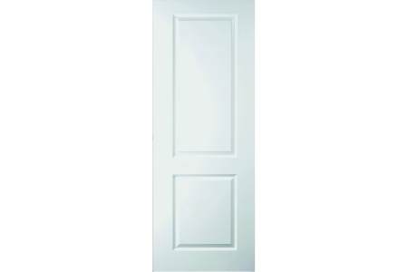 Moulded 2 Panel Smooth Hollow Core Internal Door 1981mm x 610mm x 35mm