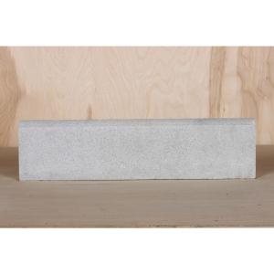 Marshalls Roundtop Edging White 600mm x 150mm x 50mm - Pack of 60