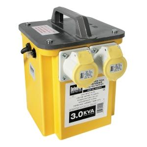 Defender 3 KVA Transformer 2 x 110V Outlets