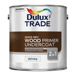 Dulux Quick Drying Wood Primer Undercoat White 2.5L