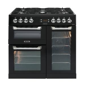 Leisure CS90F530K Cuisinemaster Dual Fuel Range Cooker Black 90cm