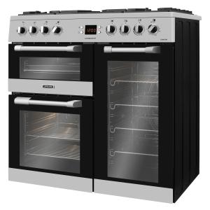 Leisure CS90F530X Cuisinemaster Dual Fuel Range Cooker Stainless Steel 90cm