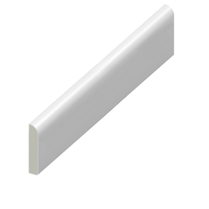 Eurocell Window Trim Upvc Pencil Round Architrave 65mm 5m White