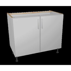 Self Assembly Kitchens Orlando Grey 1000 Highline Base