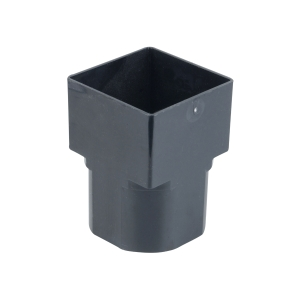 Osma SquareLine 4T836 Drain Adaptor Square To Round 61mm Black