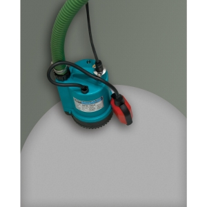 App BPS100A Submersible Automatic Pump with 10m Layflat Hose 240V